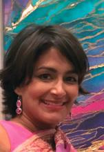 Dr. Atashi Mandal, a pediatric hospitalist in Huntington Beach, Calif.