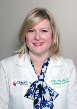 Dr. Kelly Curran, assistant professor of pediatrics at the University of Oklahoma Health Sciences Center, Oklahoma City