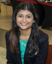 Farah Hussain, second year medical student at the University of Cincinnati  and student researcher at Cincinnati Children's Hospital Medicine