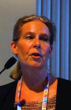 Dr. Hanna Nohynek, chief physician in the infectious diseases control and vaccinations unit of the National Institute for Health and Welfare in Helsinki, Finland