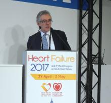 Dr. John G.F. Cleland, professor of cardiology at Imperial College, London
