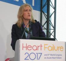 Dr. Lynne Warner Stevenson, professor of medicine at Harvard Medical School and director of the Cardiomyopathy and Heart Failure Program at Brigham and Women's Hospital in Boston