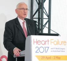 Dr. Michel Komajda, professor of cardiology at Pitié Salpêtrière University Hospital, Paris