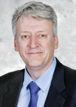 Dr. Brian Alverson, chair of AAP's Section on Hospital Medicine and associate professor of pediatrics at Brown University, Providence, R.I