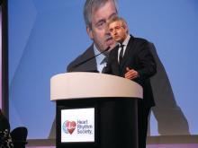 Dr. Hein Heidbuchel, professor of medicine and chair of cardiology, University of Antwerp. Belgium
