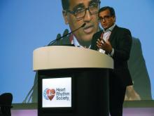 Dr. Dhanunjaya Lakkireddy, medical director, Kansas City Heart Rhythm Institute, Overland Park, Kan.
