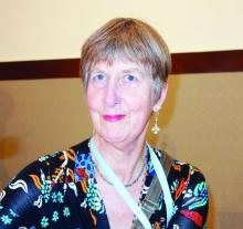 Dr. Diana Gibb, an epidemiology professor and researcher at the University College London