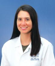 Dr. Anna Maria Muñoa, a hospitalist at Denver Health Medical Center and assistant professor of medicine at the University of Colorado