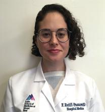 Dr. Faye Reiff-Pasarew of Icahn School of Medicine at Mount Sinai in New York