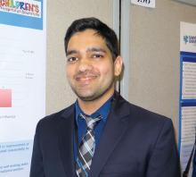 Dr. Anmol Goyal of SUNY Downstate Medical Center, Brooklyn, N.Y.
