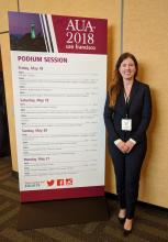 Janine Oliver, MD, presented a study at the annual meeting of the American Urological Association.