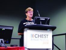 Dr. Marian Altman of the American Association of Critical Care Nurses