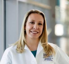 Dr. Jessica B. Kendrick, associate professor of medicine at the University of Colorado, Aurora