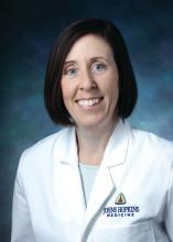 Dr. Ellen M. Mowry of Johns Hopkins University, Baltimore