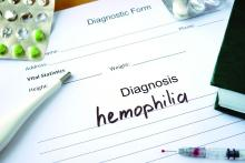 """Diagnosis: hemophilia"""