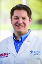 Dr. Matthew Jared is a hospitalist at St. Anthony Hospital in Oklahoma City.