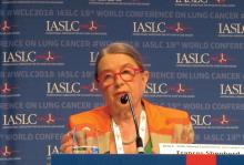 Dr. Frances Shepherd, a medical oncologist at Princess Margaret Cancer Centre in Toronto and a past IASLC president.