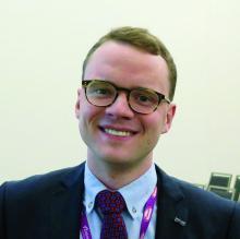 Arnar B. Ingason, a medical student at the University of Iceland, Reykjavik