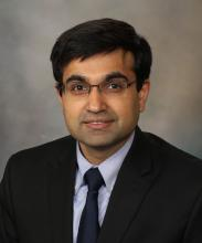 Sahil Khanna, MBBS, professor of medicine at Mayo Clinic, Rochester, Minn.