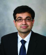 Sahil Khanna, MBBS, MS, of the Mayo Clinic, Rochester, Minn.
