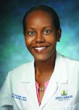 Dr. Flora Kisuule, hospitalist and Director of the Division of Hospital Medicine at Johns Hopkins Bayview Medical Center in Baltimore