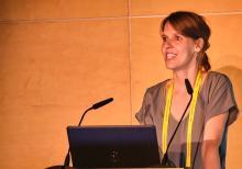 Dr. Marie Kostine of the Rheumatology Department, Centre Universitaire Hospitalier, Bordeaux, France