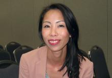Dr. Sherene Loi, head of the Translational Breast Cancer Genomics and Therapeutics Laboratory at Peter MacCallum Cancer Center, Victoria, Australia