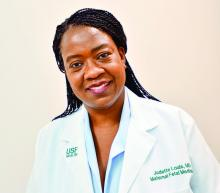 Dr. Judette Marie Louis, associate professor of obstetrics and gynecology at the University of South Florida, Tampa
