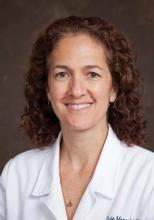 Dr. Evie Marcolini is an emergency medicine and neurocritical care specialist at Dartmouth-Hitchcock Medical Center, Hanover, N.H.
