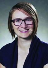 Dr. Kasia Mastalerz, a hospitalist and medical director of 9A Accountable Care Unit at the Colorado Health Foundation.