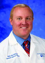 Dr. Brian McGillen, section chief of hospital medicine and associate professor in the department of medicine at Penn State