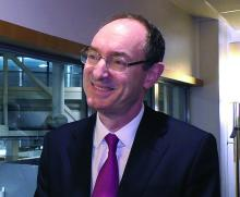 Dr. John McMurray, professor of medical cardiology at the University of Glasgow.