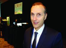 Dr. Jean-Michel Molina of St. Louis Hospital, Paris, speaks at CROI