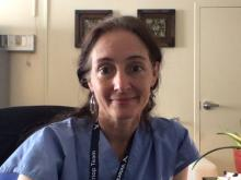 Heather Nye, MD, PhD, of the University of California San Francisco