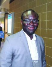 Dr. Alexis Kofi Okoh of Rutgers Robert Wood Johnson Medical School, New Brunswick, N.J.