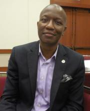 Dr. Bruce Ovbiagele, chief of staff, San Francisco Veterans Affairs Health Care System