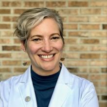 Dr. Arwen Podesta, a pychiatrist who practices in New Orleans