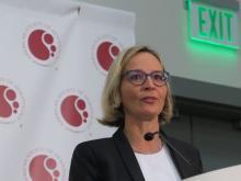 Viola Poeschel, MD of Saarland University Medical School in Homburg/Saar, Germany