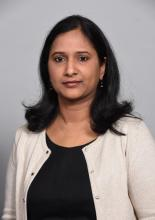 Dr. Hyma Polimera, a hospitalist at Penn State Health System