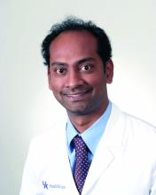 Dr. Yarra Pradeep, division of hospital medicine, UK HealthCare, Lexington, Ky.