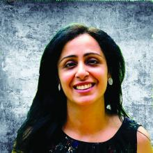 Dr. Isha Puri, a hospitalist at Lahey Hospital and Medical Center in Burlington, Mass.