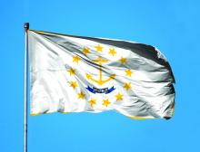 Rhode Island flag, hope