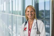 Dr. Sarah Richards, assistant professor of internal medicine at the University of Nebraska