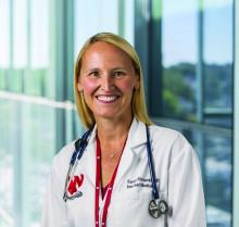 Sarah Richards, MD, a hospitalist with Nebraska Medicine in Omaha