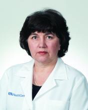 Dr. Anna Rogozinska, division of hospital medicine, UK HealthCare, Lexington, Ky.