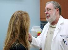 Dr. Theodore Rosen, professor of dermatology, Baylor College of Medicine, Houston (June 2020)