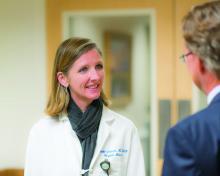 Dr. Danielle Scheurer of the Medical University of South Carolina, Charleston.