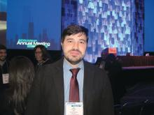 Dr. Juan Schmukler, a fellow at Mount Sinai Hospital, Chicago