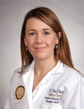 Dr. Meghan Sebasky, assistant clinical professor at the University of California, San Diego