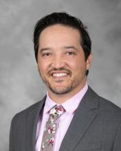 Dr. Ryan M. Serrano, a pediatric cardiologist at Riley Hospital for Children and assistant professor of pediatrics at Indiana University